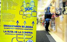 Una ruta de la compra en clave local ofrece cincuenta euros como aliciente