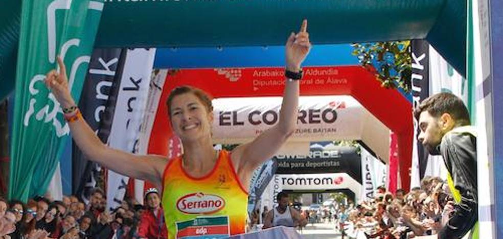 La ganadora de 2017, frente al reto de completar 15 maratones consecutivas