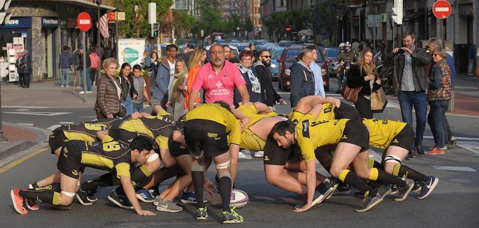 Melés y touches en Bilbao para calentar las finales europeas de rugby