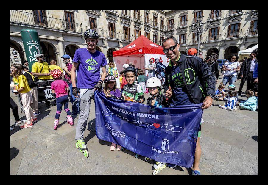 Los más txikis también disfrutan de las pruebas de la Maratón Martín Fiz