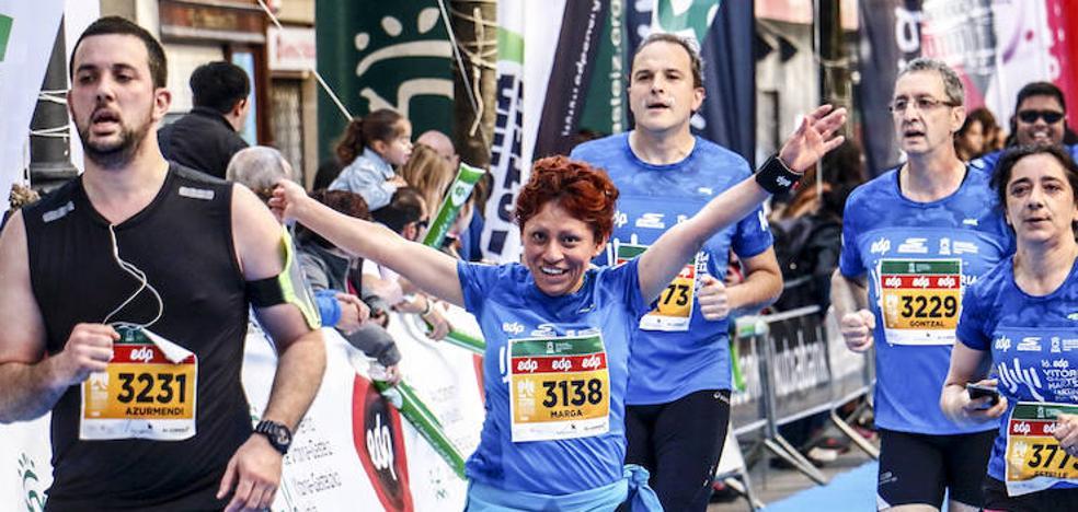 Kike Sebastián y Elena Ugena reinan en el Maratón Martín Fiz
