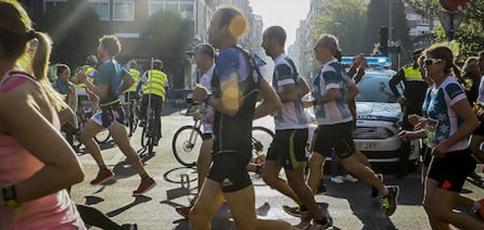 Rechazo en la Policía Local de Vitoria a reforzar en el maratón por «incumplimientos» del nuevo acuerdo