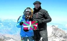 El alpinista fallecido en Burgos subió el Aconcagua con Juanito Oiarzabal
