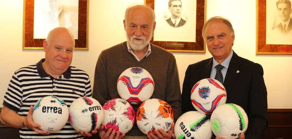 Once mil balones para los clubes más modestos