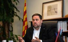 El TC admite a trámite los recursos de Junqueras y Sànchez por su prisión preventiva