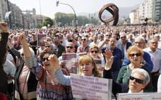 El Gobierno vasco dice a los pensionistas que el lehendakari «no suele ir» a manifestaciones