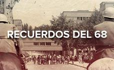 Un puñado de estudiantes contra la dictadura