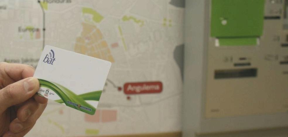 Una aplicación para recargar la tarjeta BAT a través del móvil