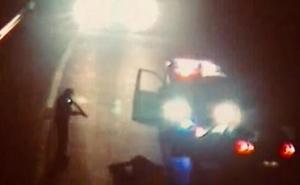 Cárcel para un hombre que encerró a su exmujer en el coche y condujo 40 kilómetros en dirección contraria por la AP-68