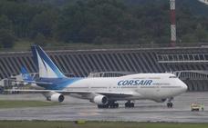 Sigue el goteo de hinchas: un 'Jumbo' aterriza en Loiu con casi 600 aficionados franceses
