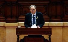 Torra no supera la primera votación en el Parlament