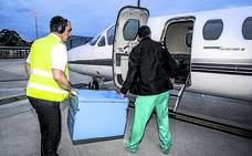 Foronda también crece como aeropuerto sanitario