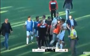 Fin de semana violento en los campos de fútbol