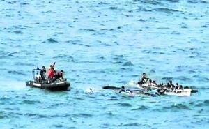 «En la última ciaboga teníamos claro que con tanta agua en el bote no llegábamos a meta»