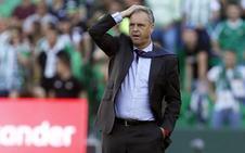 Caparrós pide perdón a los aficionados del Betis