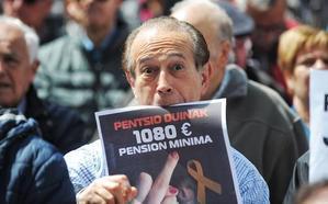 Los jubilados vascos asumen el reto de seguir en la calle hasta blindar las pensiones