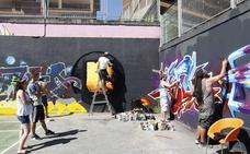 La Urban Festa de Basozelai quiere extender el grafiti a las furgonetas de reparto