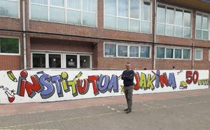 18.000 estudiantes han desfilado por el instituto de Durango en su medio siglo de historia