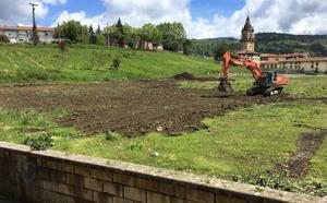 Arrancan en Iurreta las obras para habilitar el primer parque acuático de Bizkaia