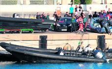 La lancha que mató a un niño en Algeciras fue usada para labores de apoyo al narcotráfico