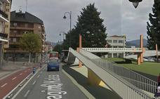 Gernika tendrá lista para final de año la pasarela peatonal del entorno de Astra