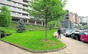 El proyecto del parking de Aldatze acogerá una zona verde en cubierta