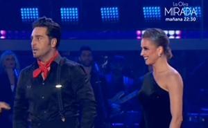 El sensual tango de Bustamante en 'Bailando con las estrellas'