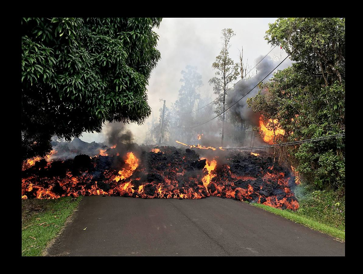 El Kilauea se enfada