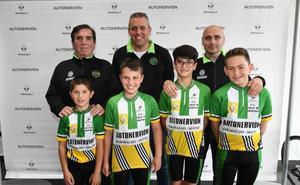 Telecomunicaciones y jóvenes ciclistas