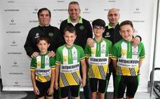 Telecomunicación y jóvenes ciclistas