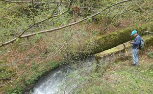 Merindades: la cascada del Aguasal y el canal del Cerneja
