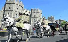 Ensayo general en Windsor para la boda de Meghan y el príncipe Enrique