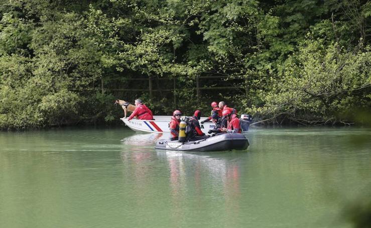 Las imágenes del despliegue en Arrigorriaga para un simulacro de rescate