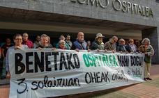 Reclaman la inclusión de 72 camas enla tercera planta del hospital de Gernika