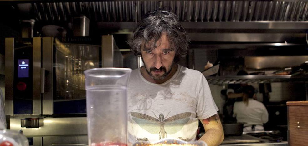 Diego Guerrero, nominado al Premio Nacional de gastronomía
