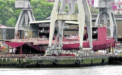 El armador Van Oord rechaza la propuesta de la banca y cancela su contrato con La Naval de Sestao