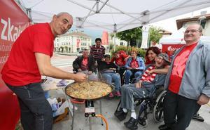 Gordexola acoge la fiesta de los centros para personas con discapacidad