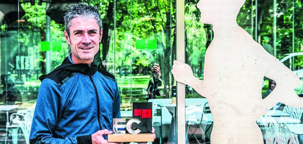 Martín Fiz: «Mi vida ha sido trabajo y trabajo; eso es lo que intento trasladar»