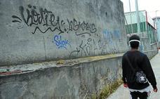 Nueva campaña para eliminar pintadas en Eibar