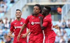 El Málaga despide la temporada con derrota ante un Getafe que acertó