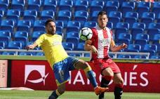 Stuani pone la guinda al Girona en la despedida de Las Palmas de Primera