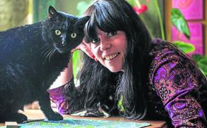 La mascota de Sara Íñiguez: «Los gatos son medicinales»