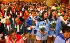 Misa solemne en Santa María