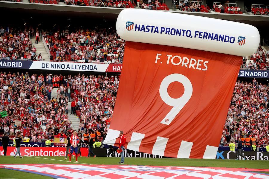 Las mejores imágenes del adiós de Fernando Torres