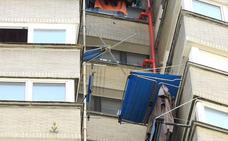 Muere una joven en Bilbao tras caer desde un piso 15 al intentar acceder a su casa por una ventana