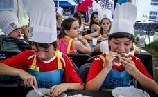 Zalla prepara los fogones para celebrar su festival gastronómico este fin de semana