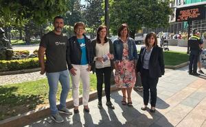 Santurtzi recibe la invitación al Ibilaldia 2018