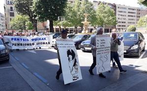 El Movimiento Pensionista de Durango anima a seguir en la lucha