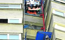 La menor que se mató al caer de un piso 15 en Bilbao quería entrar en casa para estudiar