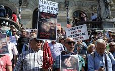 Los pensionistas vascos reclaman la subida del 1,6% «con o sin Presupuestos»